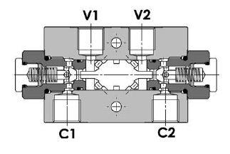 Zawór zwrotny sterowany typ: FPDL