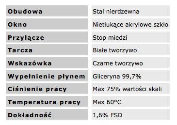 manometry_srednica_100_dane_techniczne
